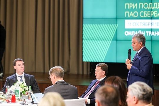 Сергей Артамонов принял участие в Деловом завтраке по комплексному развитию сельских территорий