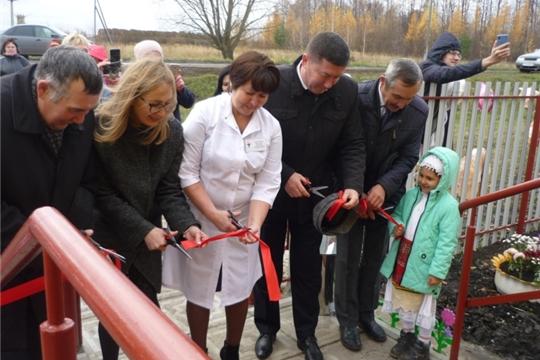 Открытие нового ФАПа в д. Оженары