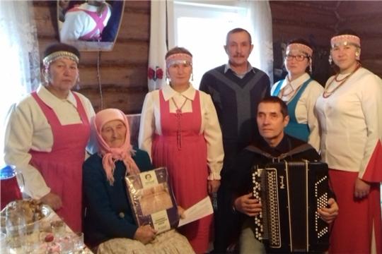 90-летний юбилей отметила жительница деревни Оженары