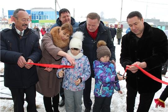 5 декабря в  Канашском районе состоялось открытие нового  ООО «Шихазанская швейная фабрика»