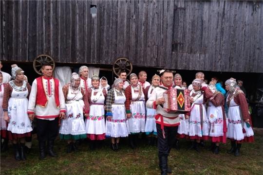 Районный фестиваль фольклорных коллективов чувашских обрядов «Аваллăха упраса, малашлăха ĕненсе»