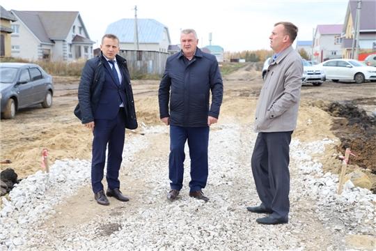 Рабочая поездка главы администрации Комсомольского района А.Н. Осипова по району