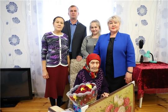 Голубевой Екатерине Егоровне из села Комсомольское - 95 лет со дня рождения