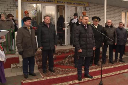 В Комсомольском районе открылся новый дом культуры и памятник-якорь вице-адмиралу Василию Петровичу Разумову