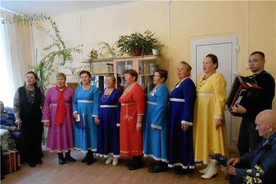 Праздник пожилых людей в Доме ветеранов