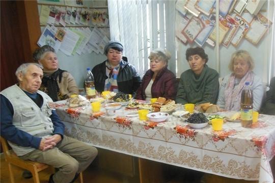 Межпоселенческая библиотека в День пожилых людей в обществе слепых
