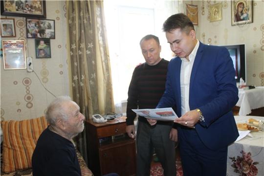 90-летний юбилей отмечает труженик тыла  Чеплашкин Андрей Борисович