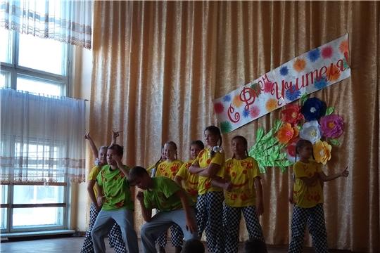«Подсолнух» танцует для своих любимых учителей