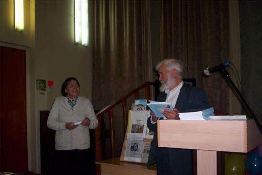 Презентация третьей книги Н. Кудальваса (Кудрявцева Альберта Васильевича) в Тюрлеминской школе