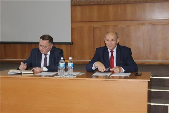 Состоялось очередное 55  заседание  Собрания депутатов Козловского района