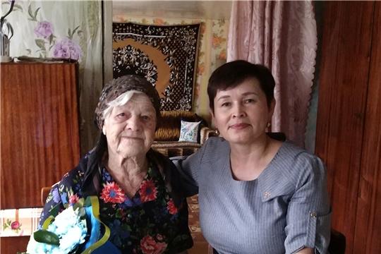 Свой 95-летний юбилей отмечает труженица тыла Парашина Екатерина Степановна