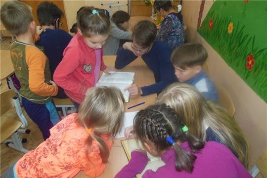 Межпоселенческая библиотека с библиотечным уроком в КЦСОН