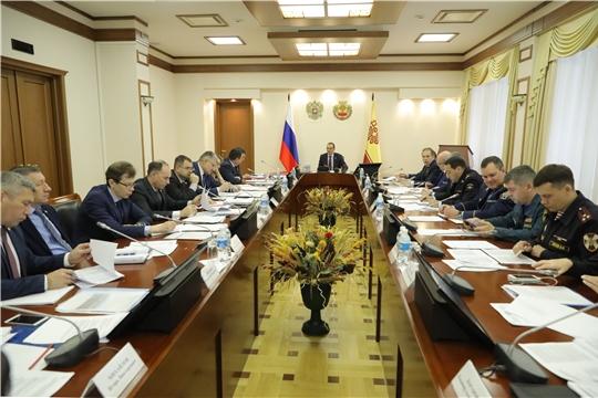 Глава Чувашии предложил предусмотреть дополнительные меры по стимулированию деятельности народных дружинников