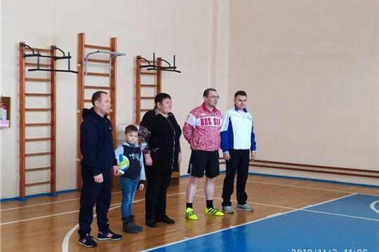 В МБОУ «Тюрлеминская СОШ» прошел турнир по волейболу памяти А. С. Никонорова