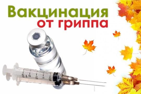 О ходе иммунопрофилактики гриппа в эпидсезоне 2019-2020 гг.  на 05.11.2019г