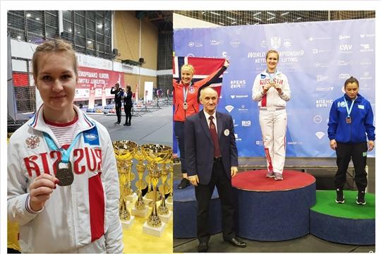 Анастасия Александрова – чемпионка мира по гиревому спорту!