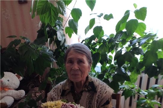 Свой 90-летний юбилей отмечает труженица тыла  Скворцова Лилия Александровна