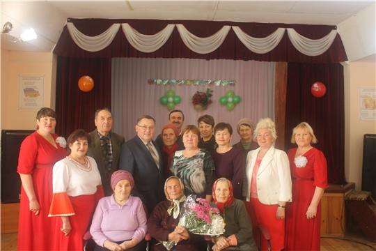 95-летний юбилей отмечает труженик тыла  Камчаткина Мария Александровна