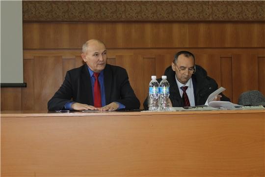 Состоялось очередное 56  заседание  Собрания депутатов Козловского района