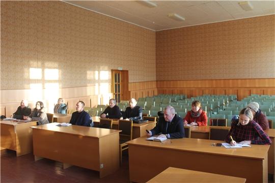 Заседание санитарно-противоэпидемической комиссии Козловского района