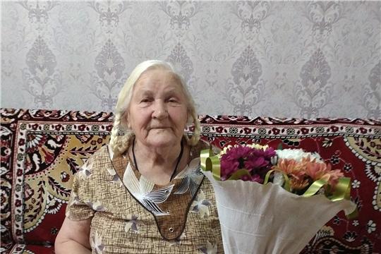 90-летний юбилей труженицы тыла  Вальковой Нины Александровны