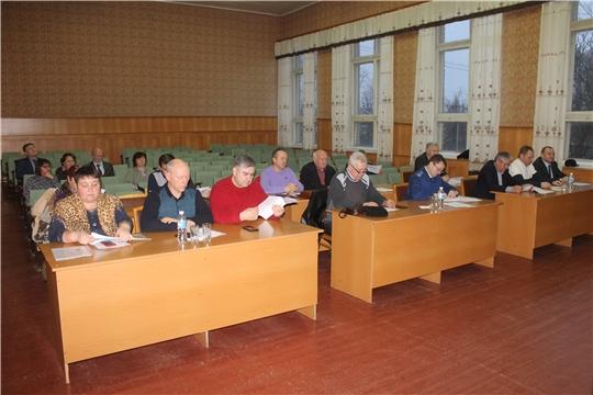 Состоялось внеочередное 57 заседание Собрания депутатов Козловского района