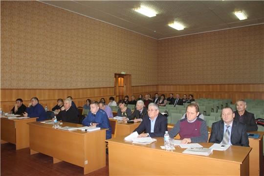 Состоялось очередное 59 заседание  Собрания депутатов Козловского района