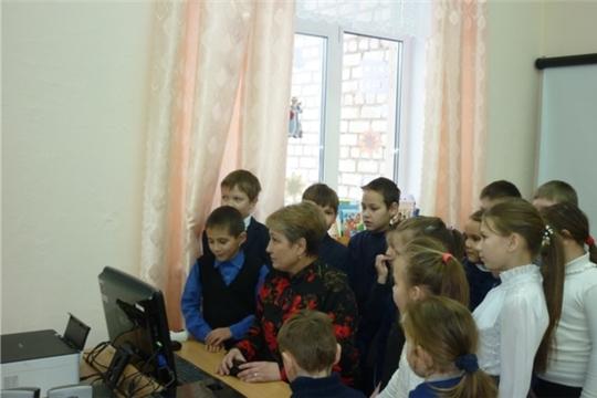 Урок Интернет-безопасности в Солдыбаевской сельской библиотеке