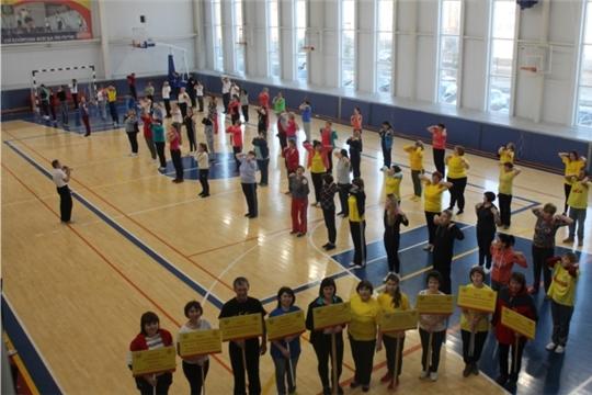 14 декабря, в День здоровья и спорта, проведен муниципальный фестиваль сдачи норм ГТО для управления образования и сотрудников общеобразовательных учреждений Козловского района.