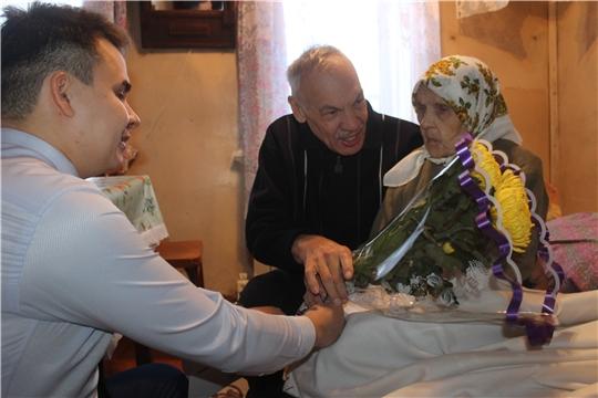 90-летний юбилей отмечает труженица тыла, ветеран труда Богомолова Сарра Николаевна