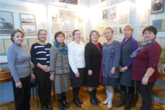 Учителя истории в музее Лобачевского