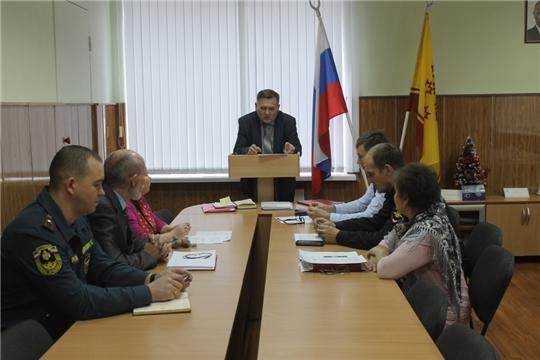 Глава администрации Козловского района Андрей Васильев провел заседание антитеррористической комиссии