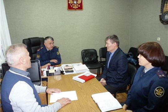 Продолжается взаимовыгодное сотрудничество между администрацией Козловского района и ИК-5 УФСИН России по Чувашской Республике – Чувашии