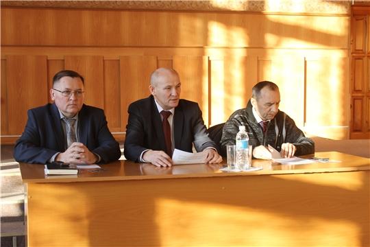 Состоялось внеочередное 60 заседание Собрания депутатов Козловского района