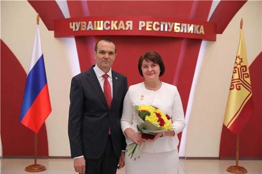Заслуженный работник образования Чувашской Республики