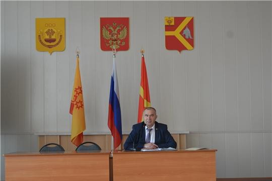 Глава администрации Красноармейского района Александр Кузнецов провел очередное совещание