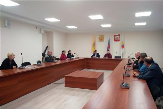 Заседание национально-культурных объединений Чувашии