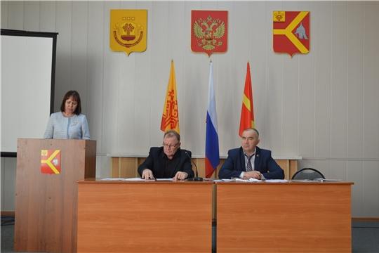 27 ноября состоялось 44-е очередное заседание Собрания депутатов Красноармейского района шестого созыва