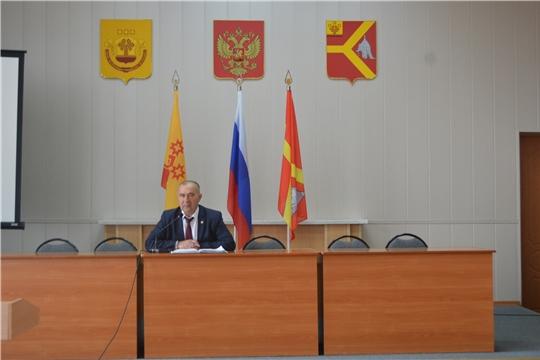 Состоялось очередное совещание при главе администрации Красноармейского района Александре Кузнецове