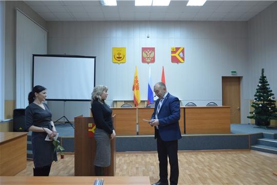 Поздравление главы администрации Красноармейского района А.Н. Кузнецова с Днем рождения и Днем юриста