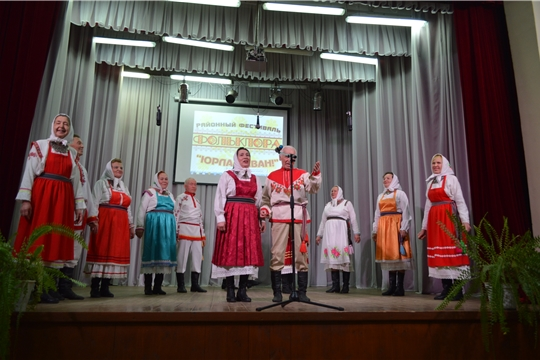 Районный фестиваль фольклорных коллективов