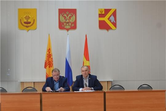 4 декабря состоялось 45-е очередное заседание Собрания депутатов Красноармейского района шестого созыва