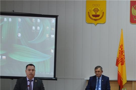 Сегодня, 5 декабря, в Красноармейском районе работала дискуссионная площадка «Актуальные вопросы реализации Национальных проектов в муниципальных образованиях Чувашской Республики»