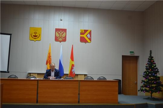 Очередное совещание при главе администрации Красноармейского района Александре Кузнецове