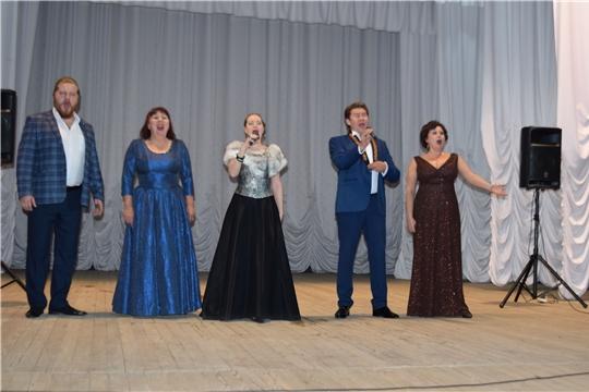 В Красночетайском районе состоялся концерт артистов Чувашского государственного театра оперы и балета