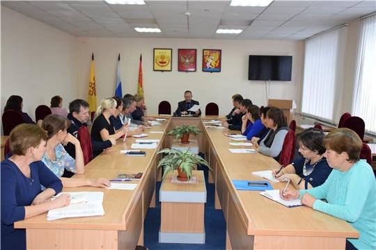 Прошло очередное совещание с главами сельских поселений