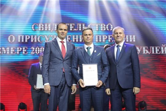 Учитель физической культуры Красночетайской школы Эдуард Романов  удостоен высокой награды – премии Президента России