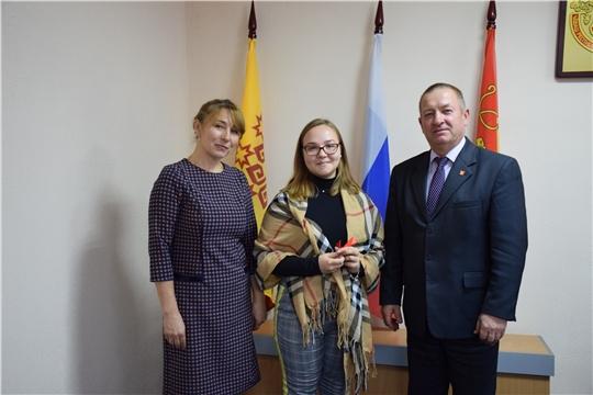 В Красночетайском районе детям-сиротам вручили ключи от новых квартир