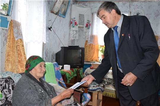 Ратный труд долгожительницы достоин уважения