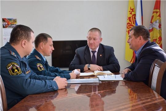 Проводится плановая комплексная проверка по вопросам состояния гражданской обороны в администрации Красночетайского района